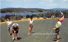 spo013641 - Old Vintage Golf Postcard Post Card