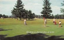 spo013644 - Old Vintage Golf Postcard Post Card