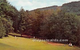 spo013647 - Old Vintage Golf Postcard Post Card
