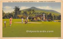 spo013649 - Old Vintage Golf Postcard Post Card