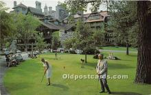 spo013651 - Old Vintage Golf Postcard Post Card