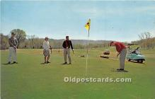 spo013659 - Old Vintage Golf Postcard Post Card