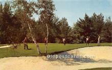 spo013660 - Old Vintage Golf Postcard Post Card