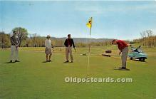spo013662 - Old Vintage Golf Postcard Post Card