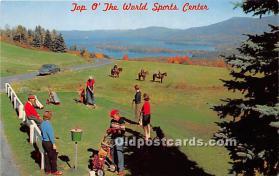 spo013669 - Old Vintage Golf Postcard Post Card