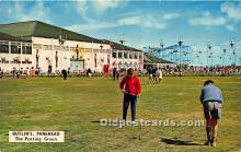 spo013671 - Old Vintage Golf Postcard Post Card