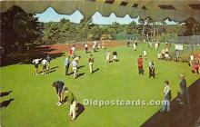 spo013677 - Old Vintage Golf Postcard Post Card
