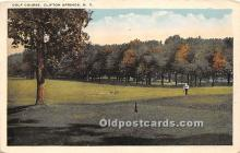 spo013678 - Old Vintage Golf Postcard Post Card