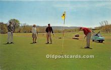 spo013679 - Old Vintage Golf Postcard Post Card