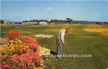 spo013680 - Old Vintage Golf Postcard Post Card