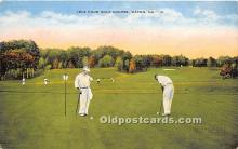 spo013683 - Old Vintage Golf Postcard Post Card