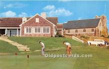 spo013687 - Old Vintage Golf Postcard Post Card