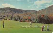 spo013689 - Old Vintage Golf Postcard Post Card