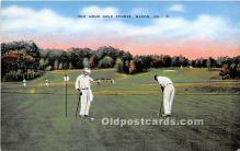 spo013691 - Old Vintage Golf Postcard Post Card