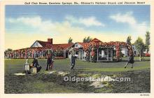 spo013692 - Old Vintage Golf Postcard Post Card