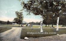 spo013698 - Old Vintage Golf Postcard Post Card