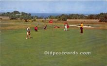 spo013701 - Old Vintage Golf Postcard Post Card