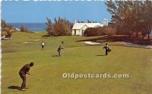 spo013703 - Old Vintage Golf Postcard Post Card