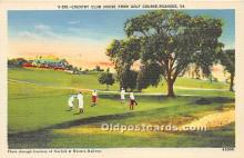 spo013706 - Old Vintage Golf Postcard Post Card