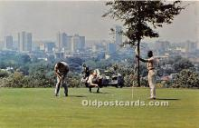 spo013710 - Old Vintage Golf Postcard Post Card