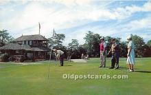 spo013713 - Old Vintage Golf Postcard Post Card