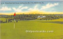spo013717 - Old Vintage Golf Postcard Post Card