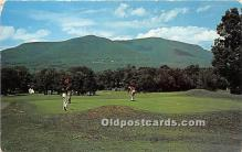 spo013718 - Old Vintage Golf Postcard Post Card