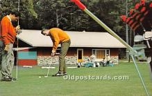 spo013719 - Old Vintage Golf Postcard Post Card