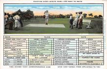 spo013720 - Old Vintage Golf Postcard Post Card