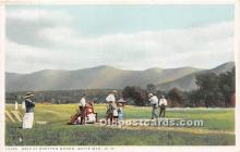 spo013722 - Old Vintage Golf Postcard Post Card