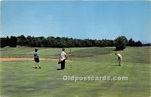 spo013724 - Old Vintage Golf Postcard Post Card
