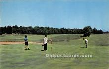 spo013725 - Old Vintage Golf Postcard Post Card