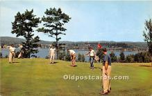 spo013728 - Old Vintage Golf Postcard Post Card