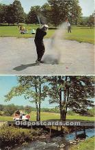 spo013729 - Old Vintage Golf Postcard Post Card