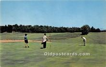 spo013730 - Old Vintage Golf Postcard Post Card
