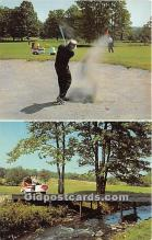 spo013731 - Old Vintage Golf Postcard Post Card