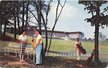 spo013738 - Old Vintage Golf Postcard Post Card