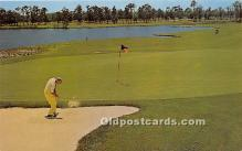 spo013742 - Old Vintage Golf Postcard Post Card