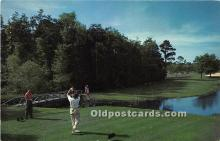 spo013747 - Old Vintage Golf Postcard Post Card