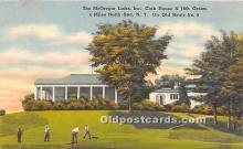 spo013748 - Old Vintage Golf Postcard Post Card