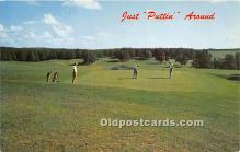 spo013749 - Old Vintage Golf Postcard Post Card