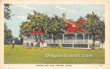 spo013751 - Old Vintage Golf Postcard Post Card