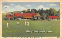 spo013766 - Old Vintage Golf Postcard Post Card