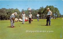spo013767 - Old Vintage Golf Postcard Post Card
