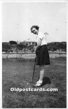 spo013855 - Old Vintage Golf Postcard Post Card