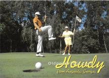 spo013887 - Old Vintage Golf Postcard Post Card