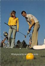 spo013889 - Old Vintage Golf Postcard Post Card