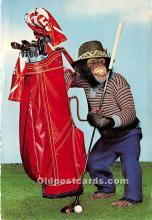 Chimp Golfing