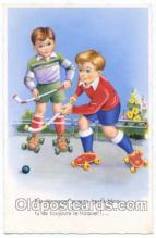 spo014055 - Hockey Postcard Postcards