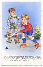 spo014055 - Hockey Postcard Postcards